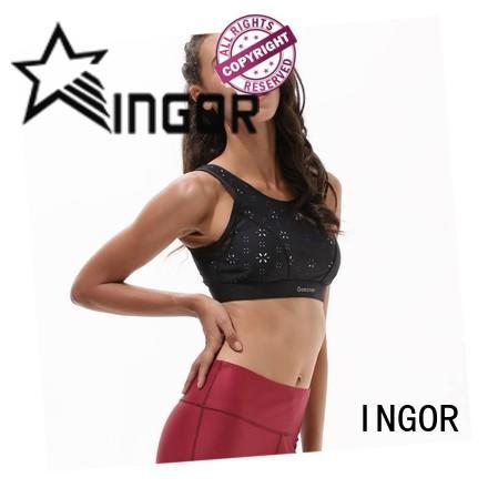 custom bright sports bra wireless on sale for women