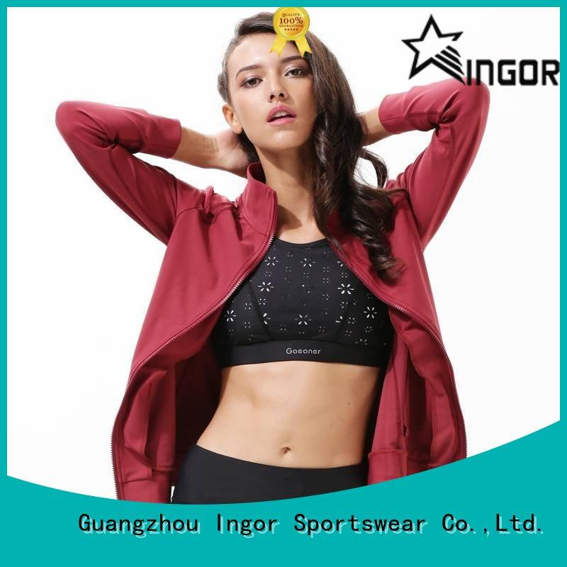 INGOR jacket yoga Jacket with high quality at the gym