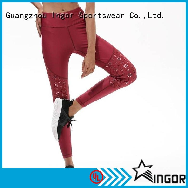 INGOR blue running pants women on sale
