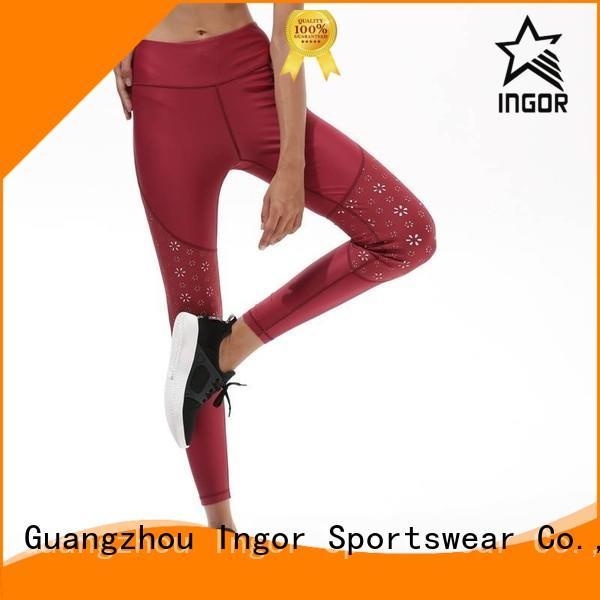 Wholesale gym ladies leggings INGOR Brand