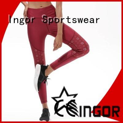 convenient yoga leggings mesh on sale for sport