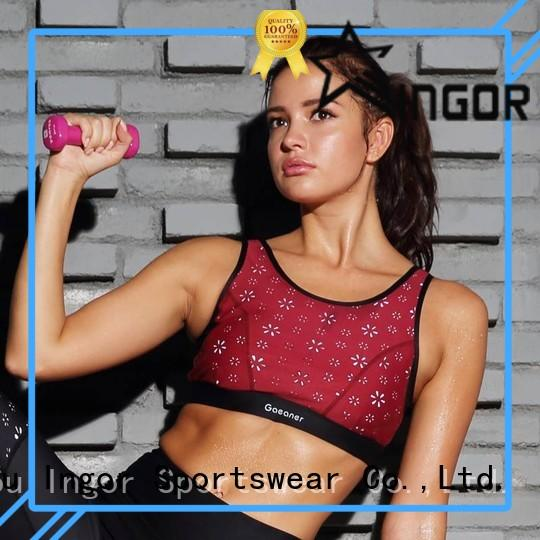 sports colorful sports bras running INGOR company