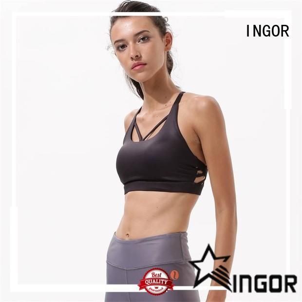 INGOR ingor halter sports bra with high quality for ladies
