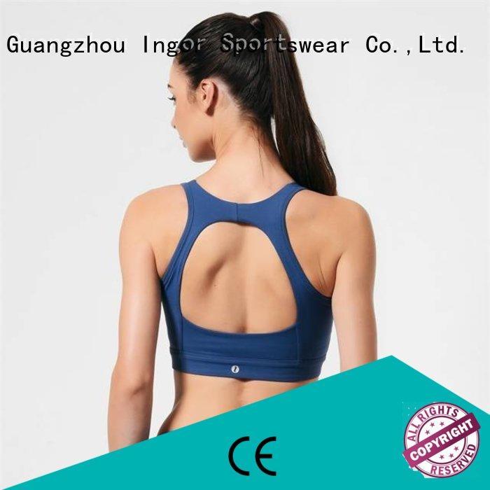wireless ingor adjustable strap colorful sports bras INGOR Brand