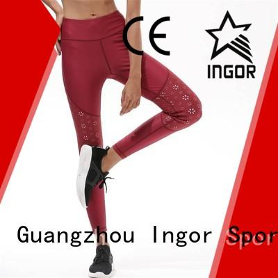 Quality INGOR Brand ladies leggings  print sports