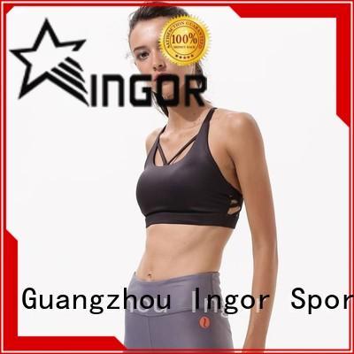 INGOR Brand strap impact sports bra sexy factory