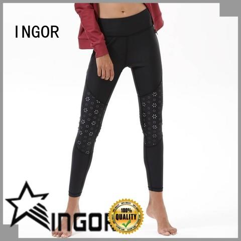 fitness yoga capris with high quality INGOR