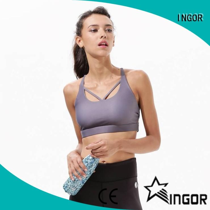 INGOR quality women's sports bra to enhance the capacity of sports for girls
