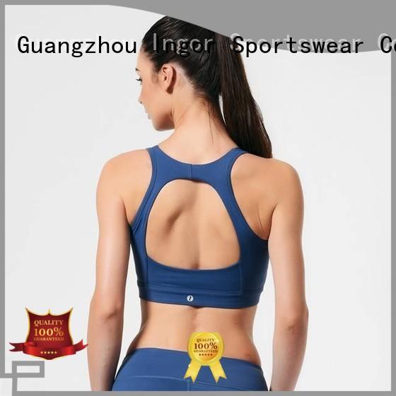 Custom patterned sexy sports bra INGOR ladies