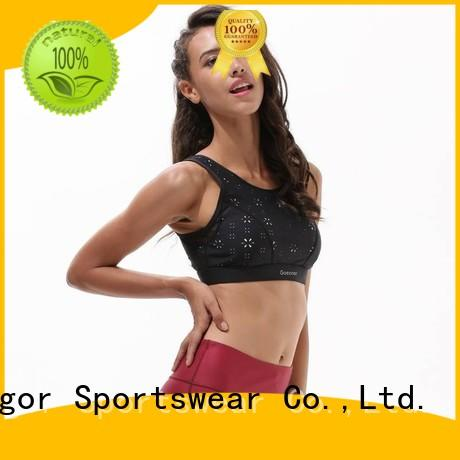 cross back adjustable OEM sports bra INGOR