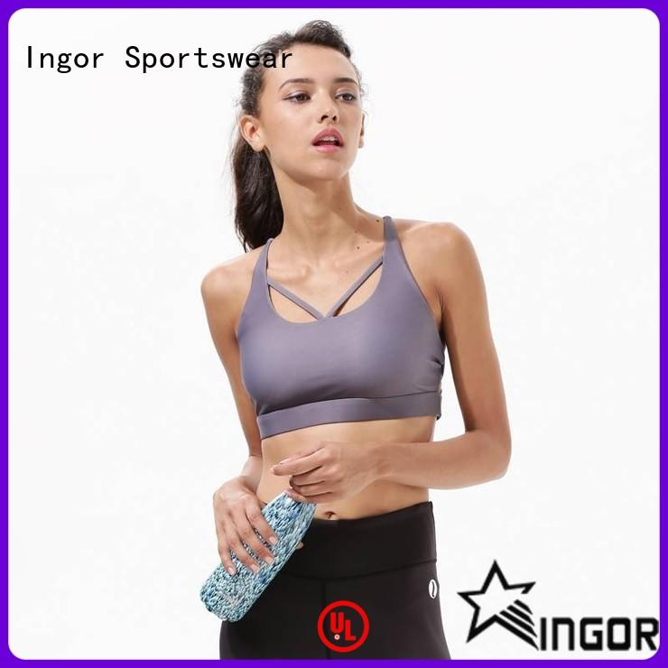 online grey pink sports bra support on sale at the gym