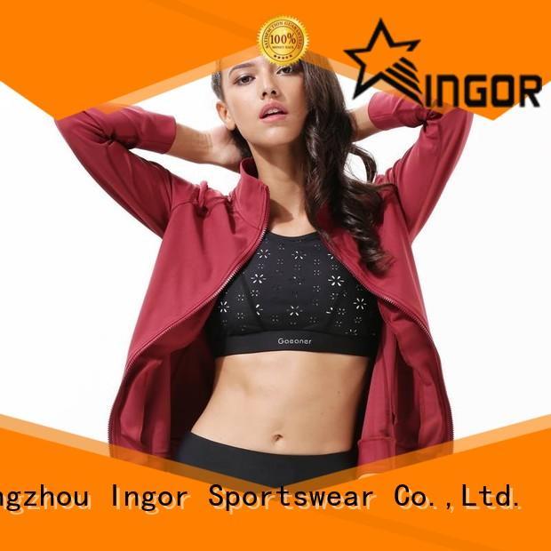 sports yoga Jacket on sale for ladies INGOR
