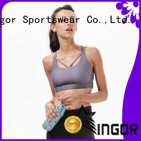INGOR custom compression sports bra to enhance the capacity of sports for women