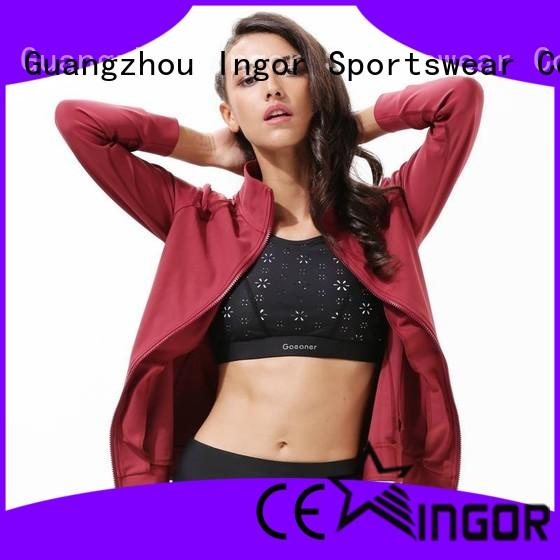 winter yoga Jacket woman with high quality for sport