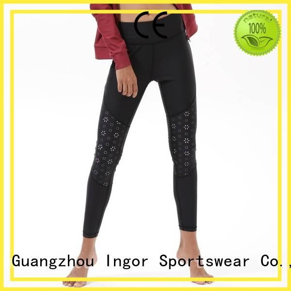 INGOR Brand sexy exercise yoga pants manufacture