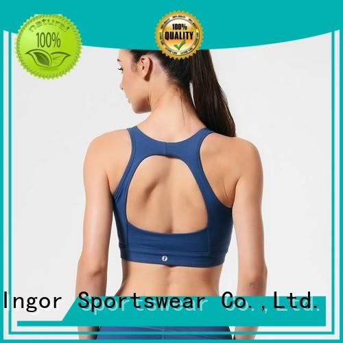 Hot top sports bra neck white INGOR Brand