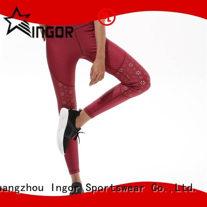 INGOR Brand waist workout ladies leggings  women supplier