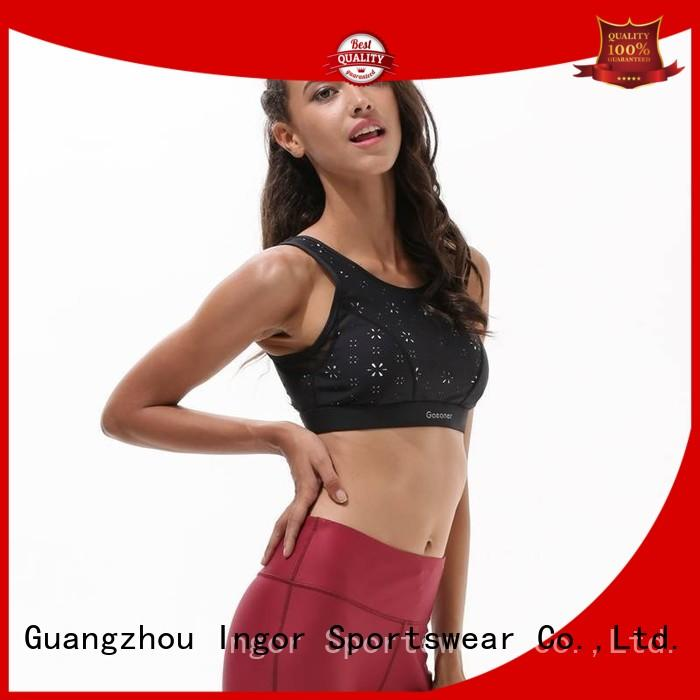 colorful sports bras strappy comfortable bra INGOR Brand