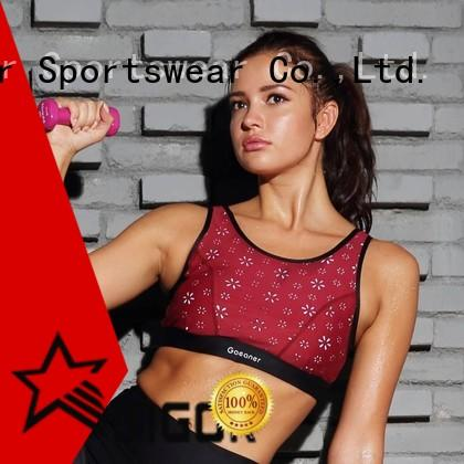 INGOR sexy compression sports bra to enhance the capacity of sports for ladies
