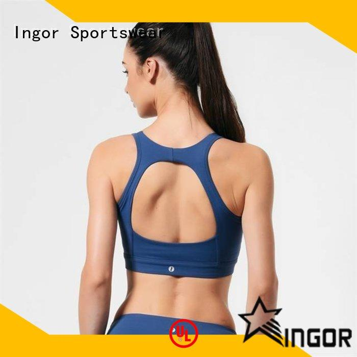 INGOR designer light grey sports bra on sale for sport