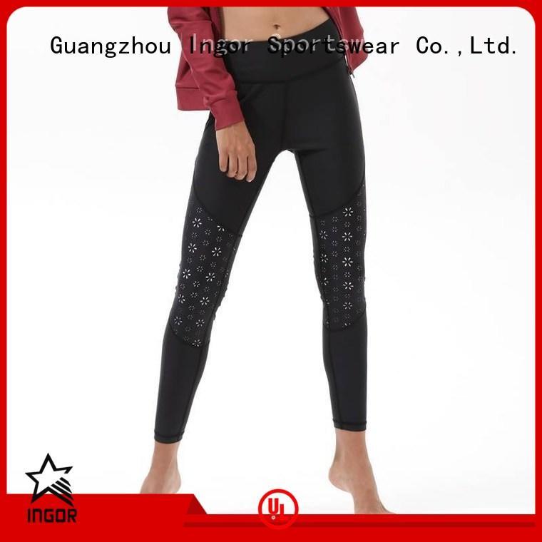 printed workout tights OEM yoga pants INGOR