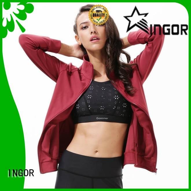 INGOR high quality yoga Jacket on sale for women