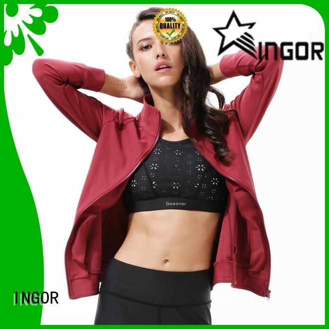 INGOR sports yoga Jacket with high quality at the gym