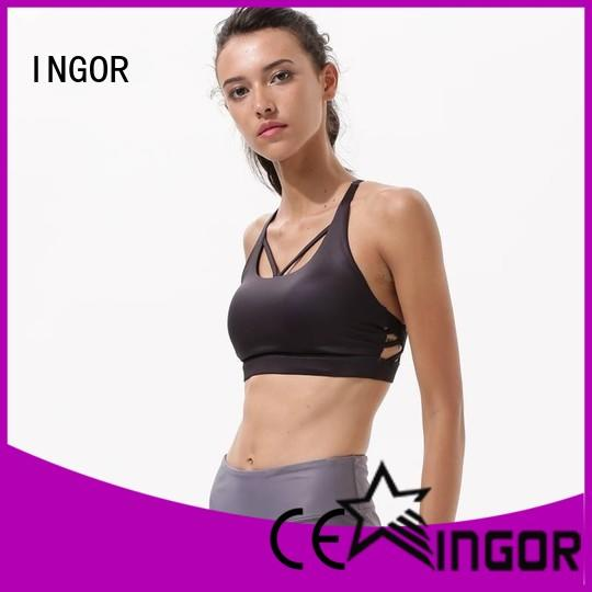 INGOR sexy women's sports bra to enhance the capacity of sports at the gym