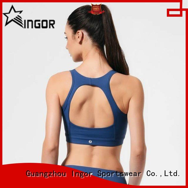 soft compression sports bra ladies with high quality for women