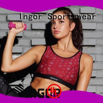 INGOR yoga women's sports bra to enhance the capacity of sports for women