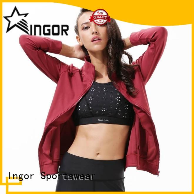INGOR high quality yoga Jacket with high quality for sport