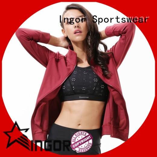 INGOR winter yoga Jacket on sale at the gym