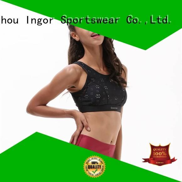 colorful sports bras activewear adjustable INGOR Brand