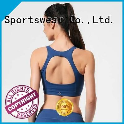 Quality INGOR Brand front red sports bra