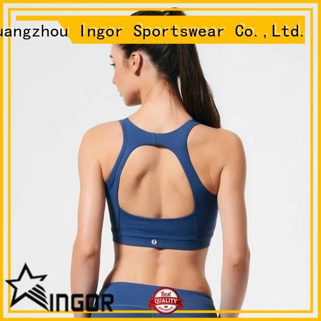 INGOR soft compression sports bra with high quality for sport