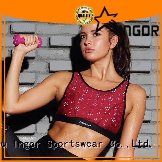 INGOR online white and black sports bra on sale for girls