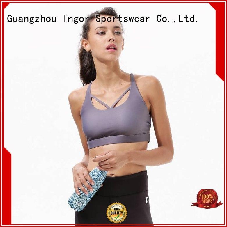 INGOR Brand strappy white sports bra medium factory