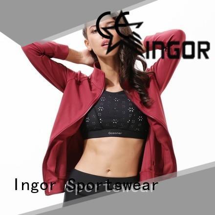 INGOR custom yoga Jacket on sale for girls