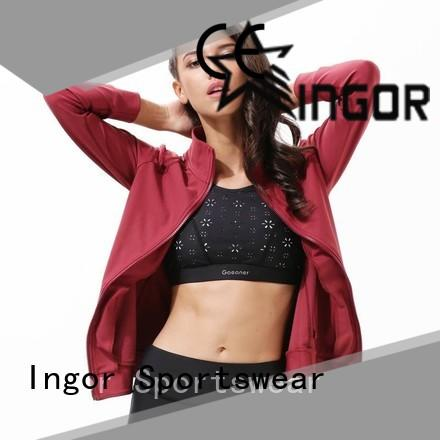 INGOR custom yoga Jacket on sale for girls