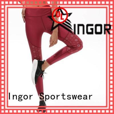 colorful yoga leggings print with high quality for yoga