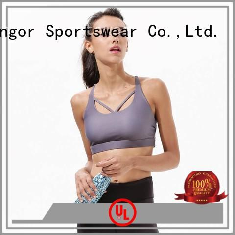 designer ingor white INGOR Brand colorful sports bras manufacture
