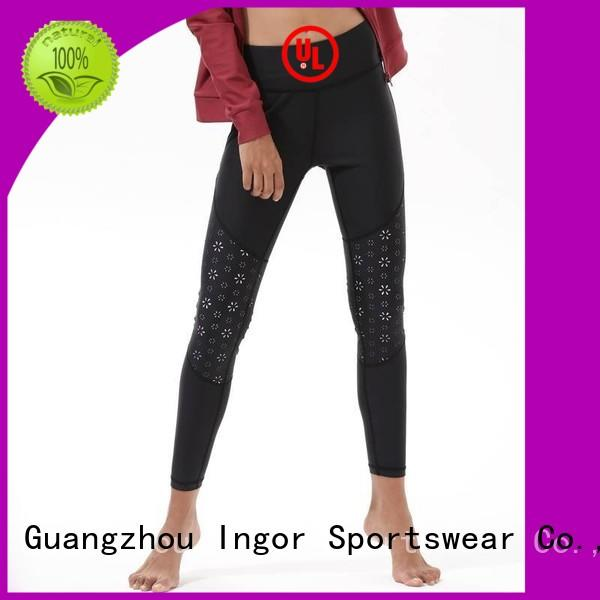 patterned ladies leggings  activewear INGOR company