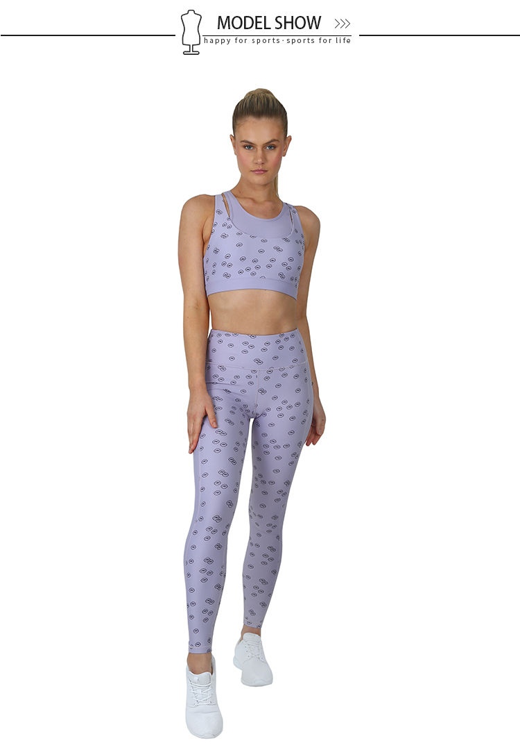 fashion women yoga set overseas market for yoga-7