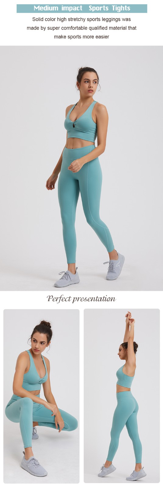 high quality women yoga set factory price for ladies-4