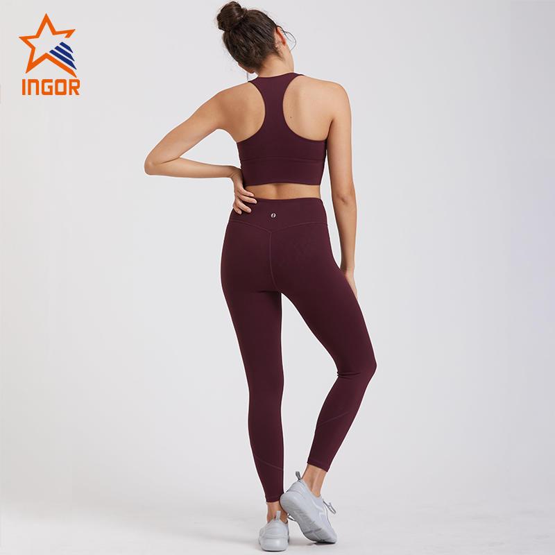 Women Yoga Fitness Sports Bra And Leggings Yoga Set