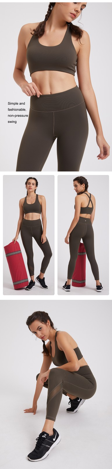 high quality yoga set online marketing for sport-4