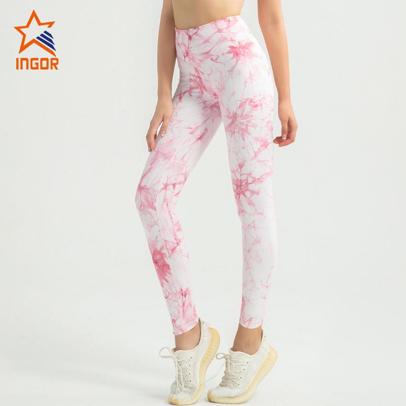 2020 strappy sports bra women yoga apparel tie dye yoga leggings set