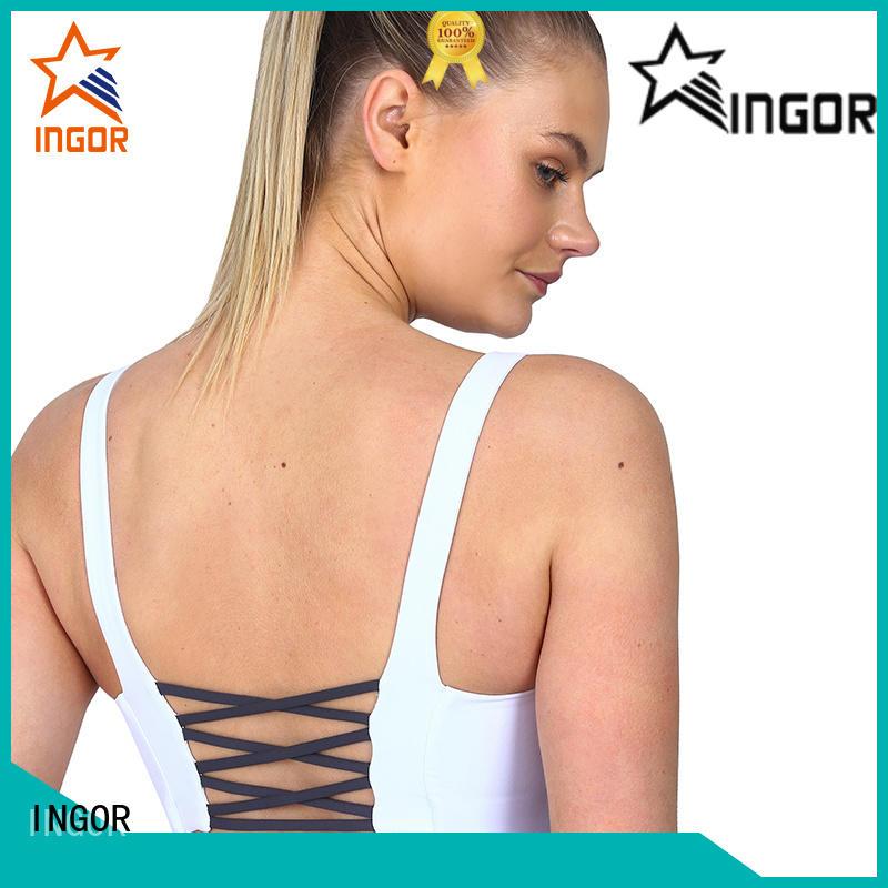 INGOR custom compression sports bra on sale for sport