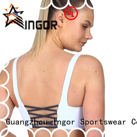 INGOR sexy compression sports bra to enhance the capacity of sports for girls