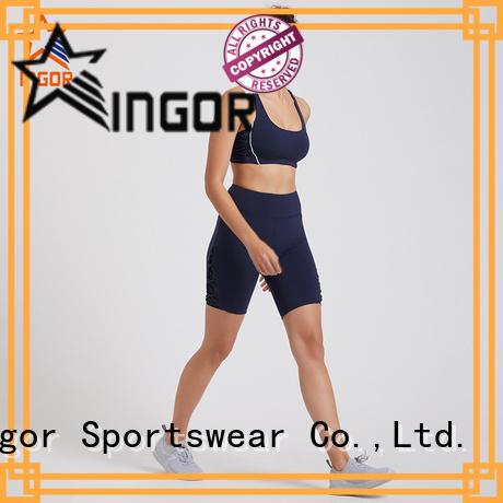 INGOR personalized women yoga set supplier for ladies